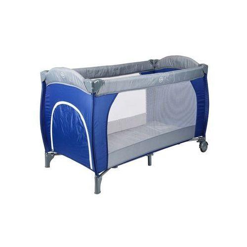 Łóżeczko turystyczne Hop-Sport granatowe standard + moskitierka gratis - produkt dostępny w Hegen