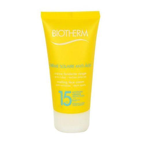 Biotherm creme solaire anti-age face cream spf15 preparat samoopalający do twarzy 50 ml dla kobiet (3614270429811)