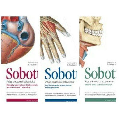 Atlas anatomii człowieka. Sobotta TOM 1-3 wyd.IV