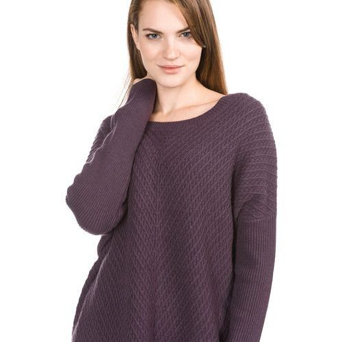 Selected Femme SFRILLE WIDE ONECK Sweter plum perfect (5713616237856)