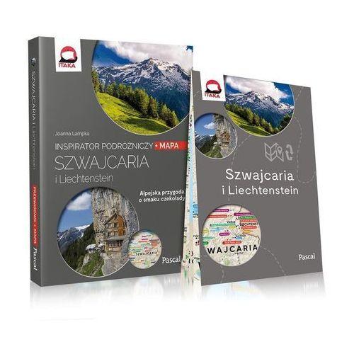 Szwajcaria i Liechtenstein Inspirator podróżniczy (208 str.)