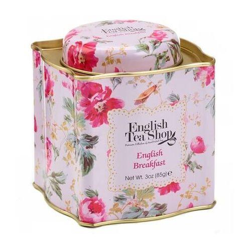 Herbata English Breakfast sypana w ozdobnej puszce BIO 85 g