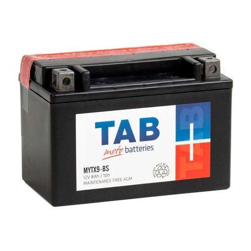 Akumulator motocyklowy ytx9-bs (mytx9-bs) 12v 8ah 100a l+ marki Tab