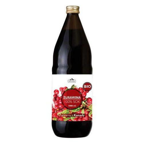 sok z żurawiny bio 1000ml marki Dr gaja