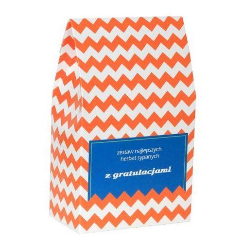 Gratuluję. zestaw herbat z gratulacjami – 10 wyjątkowych herbat sypanych - 9x5g + 8g marki Cup&you cup and you