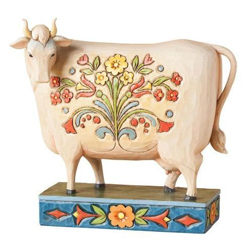 Krówka til the cows come home (folk cow) 4039491 figurka ozdoba świąteczna marki Jim shore