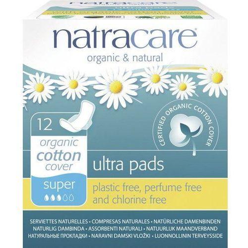 Podpaski ze skrzydełkami ultra super 12 sztuk marki Natracare