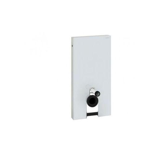 Geberit Monolith Moduł sanitarny do WC wiszącego biały 131.022.SI.1 (stelaż i zestaw podtynkowy)