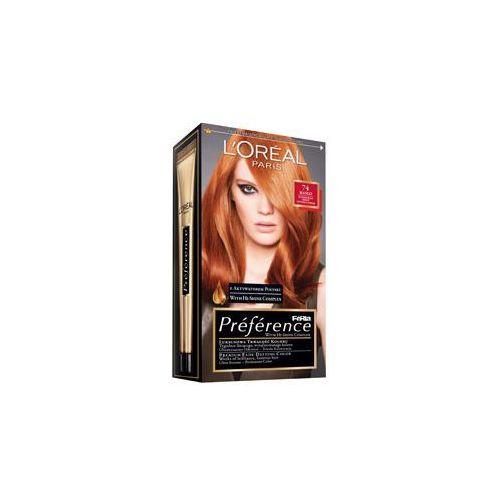 Feria Preference farba do włosów 74 Mango Intensywna miedź, L'Oreal Paris