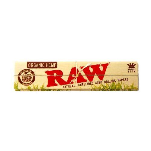 Bibułki RAW Organic Hemp KS Slim