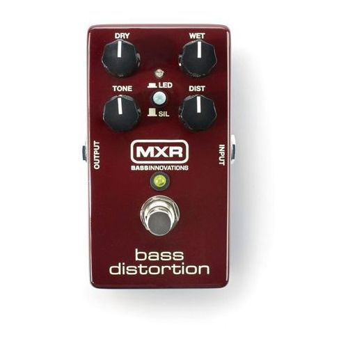 MXR M85 - Bass Distortion efekt do gitary basowej