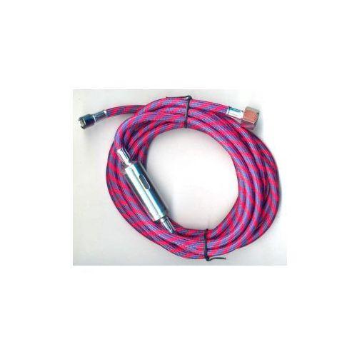 Laczny węż czerwony Fengda® BD-29A , 3,0 m wkręcanie G1/4 - G1/8, produkt marki Aerograf Fengda