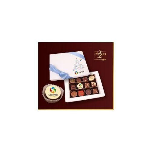 Czekoladki świąteczne czekoladki 3x4 marki Carmag polska