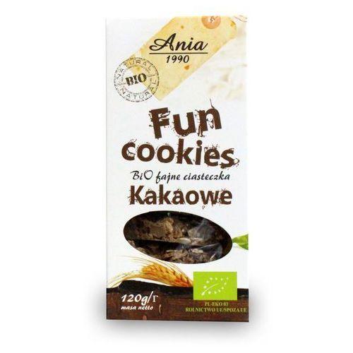 Bioania Fun cookies czekoladowe 120g bio (5903453004777)