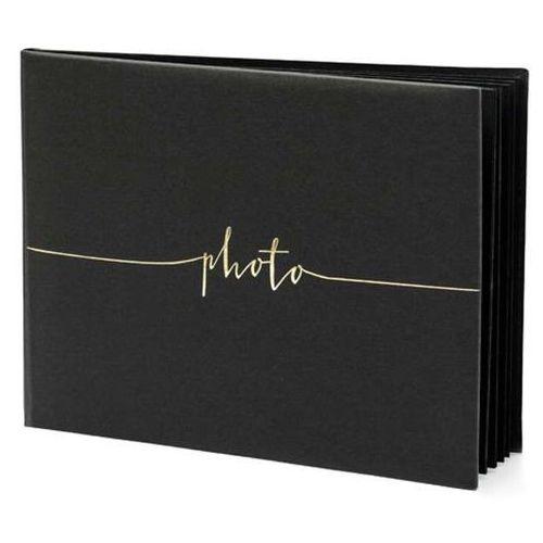 """Album na zdjęcia """"photo"""", , 24 x 18,5 cm, czarny, 22 kartki marki Partydeco"""