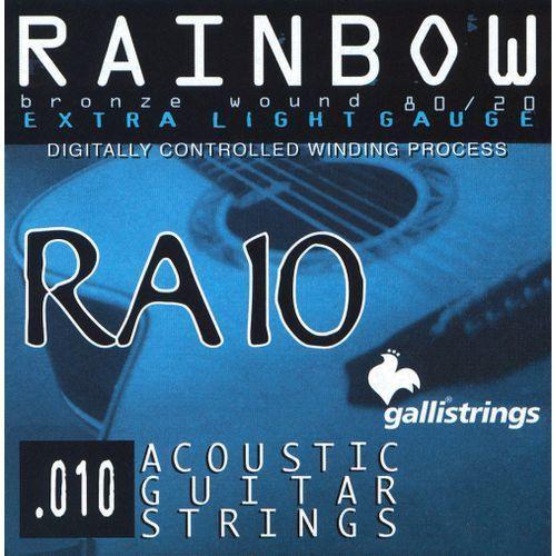 Galli ra10 extra light - struny do gitary akustycznej