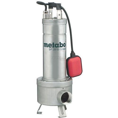 METABO Pompa do wody brudnej SP 28-50 S INOX 1470W TRANSPORT GRATIS !