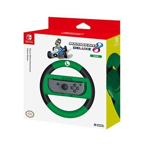 Hori Nakładka na kontroler nsw-055u joy-con wheel deluxe - luigi do nintendo switch (0873124006537)
