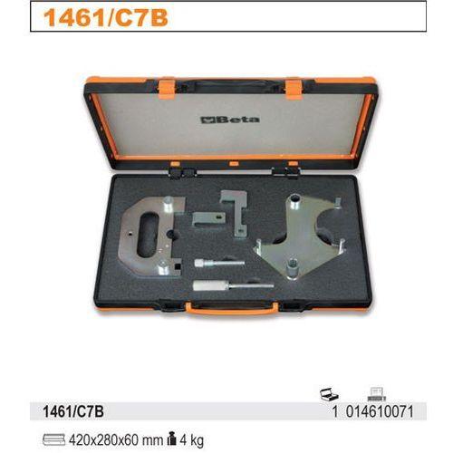 Zestaw narzędzi do blokowania i ustawiania układu rozrządu w silnikach benzynowych renault/nissan 1.4-2.0 16v, model 1461/c7b od producenta Beta