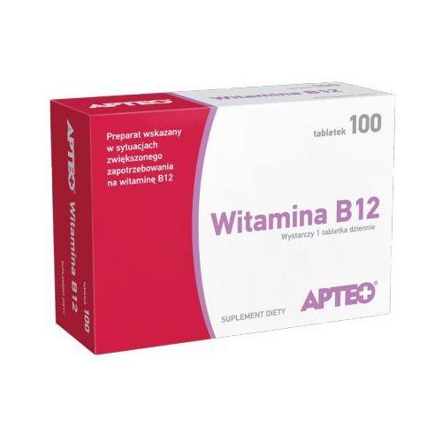 APTEO WITAMINA B12 10 µg x 100 tabletek