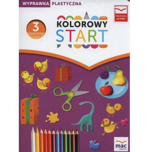Pakiet Kolorowy start. Trzylatek. Wyprawka plastyczna w teczce - Żaba - Żabińska Wiesława (2016)