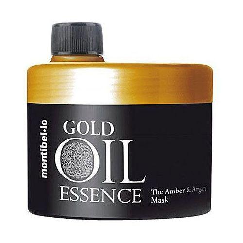 Montibello Gold Oil Essence, maska nawilża, wzmacnia i zapobiega puszeniu 500ml