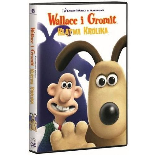 Wallace i Gromit: Klątwa królika (DVD) (Płyta DVD)