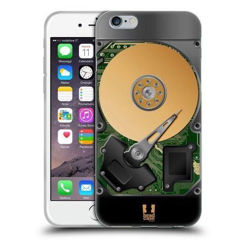 Etui silikonowe na telefon - Hard Disk Drives GREEN