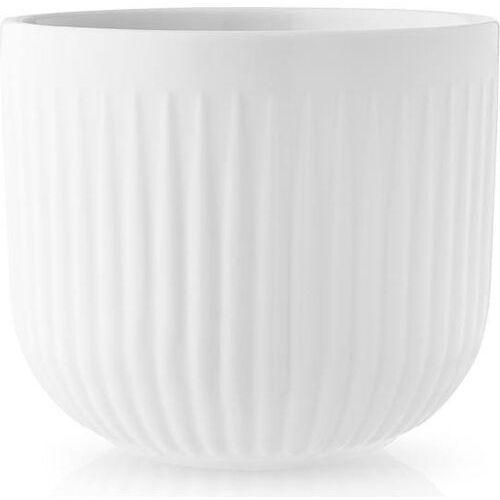 Doniczka Legio Nova 15,5 cm, porcelana, biała - Eva Solo (5706631189637)