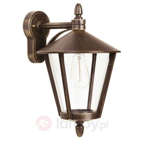 Stylowa zewnętrzna lampa ścienna 665 b marki Albert leuchten