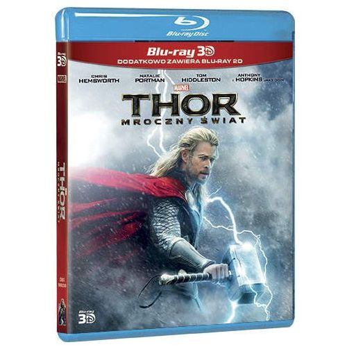 Thor: Mroczny świat 3D (2Blu-ray)
