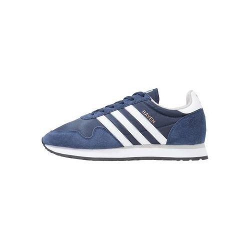Adidas originals haven tenisówki i trampki collegiate navy/white/clear granite