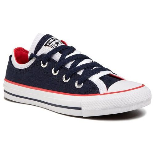 Converse Trampki - ctas double upper ox 567039c obsidian/white/university red