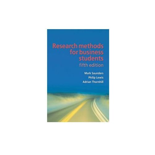 Research Methods for Business Students (9780273716860)