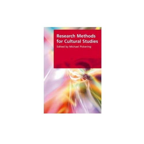 Research Methods for Cultural Studies (9780748625789)