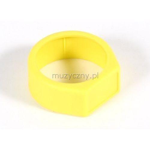 Neutrik xcr 4 pierścień na złącze nc**x* (żółty)