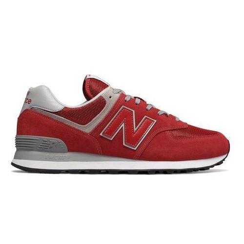 Buty New Balance ML574ERD, kolor czerwony