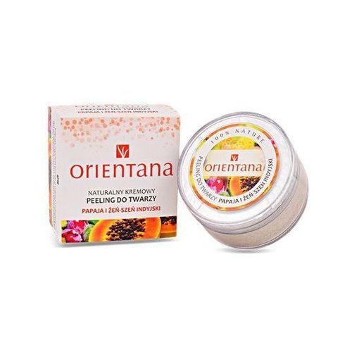 Orientana Peeling do twarzy papaja i żeń-szeń 50g