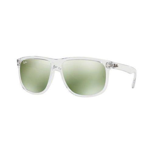 Ray-ban Rayban okulary przeciwsłoneczne clear/green flash silver