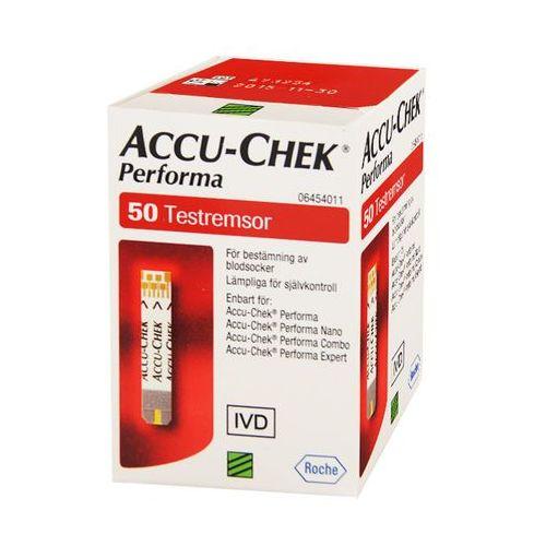 ACCU-CHEK PERFORMA TESTY PASKOWE DO GLUKOMETRU 50 PASKÓW - oferta (05b2d4a31f232533)