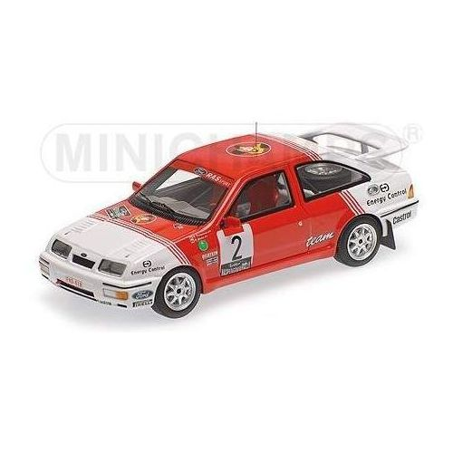 Minichamps Ford sierra rs cosworth #2 drogmanns/joosten winner lotto haspengouw rally 1987