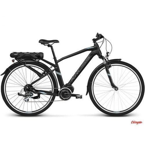 Rower elektryczny trans hybrid 2.0 czarny/niebieski/srebrny mat 2018 marki Kross