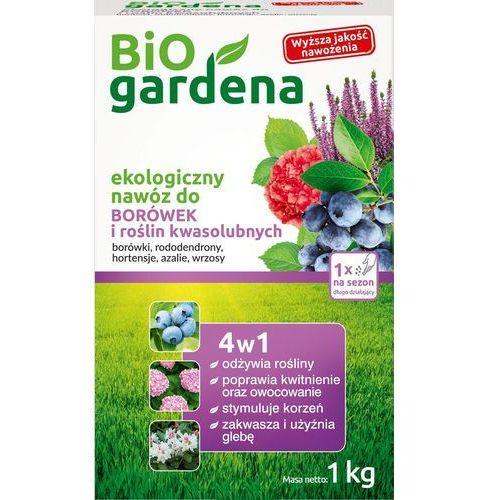 Bio gardena (nawozy i preparaty) Nawóz do borówek i roślin kwasolubnych 1kg - bio gardena