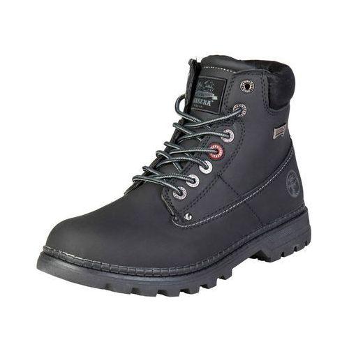 Buty Męskie Trapery Carrera Jeans NEVADA Czarne, kolor czarny