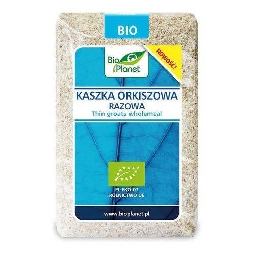 Bio planet - seria niebieska (ryże, kasze, ziarna) Kaszka orkiszowa razowa bio 400 g - bio planet (5902983784029)