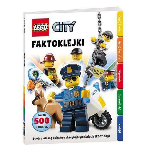 KSIĄŻKA LEGO ® City. Faktoklejki, pozycja wydawnicza