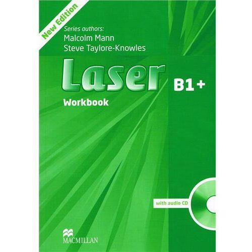 Laser B1+, Third Edition, Workbook (zeszyt ćwiczeń) without Key with Audio CD (127 str.)