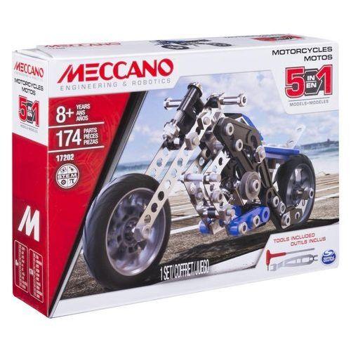 MECCANO Motocykl 5 w 1