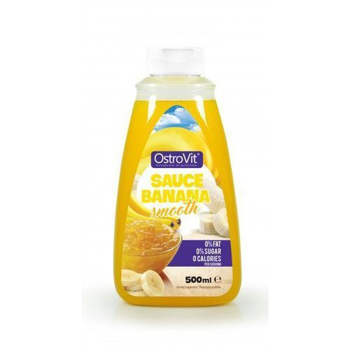 OstroVit Sauce Banana Smooth ZERO - 500ml, 009145