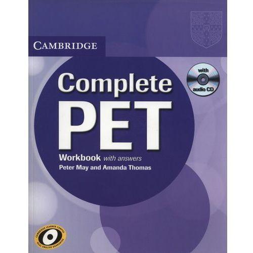Complete PET Workbook (zeszyt ćwieczeń) with Answers with Audio CD, oprawa miękka